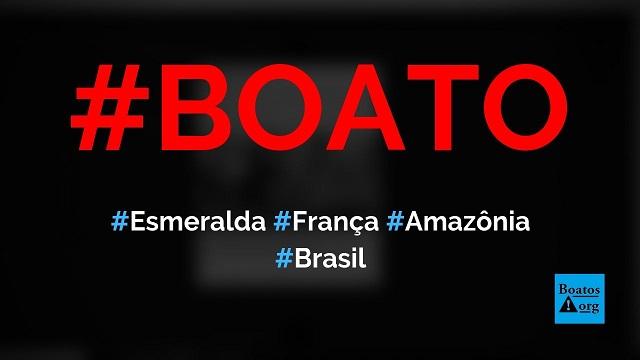 Esmeralda de duas toneladas e meia que ia para a França é encontrada na Amazônia, diz boato (Foto: Reprodução/Facebook)