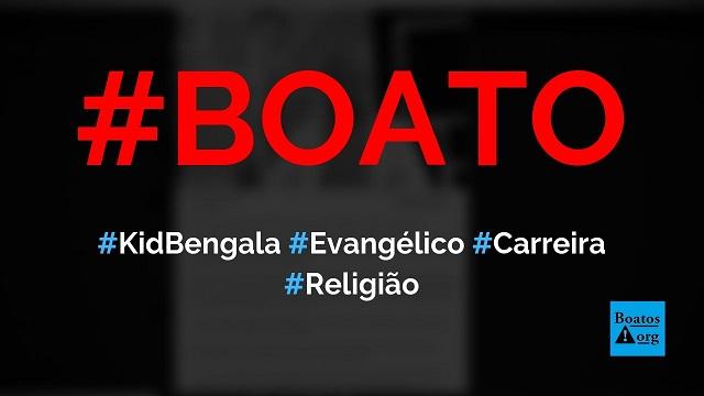 Kid Bengala vira evangélico e abandona carreira em filmes adultos, diz boato (Foto: Reprodução/Facebook)