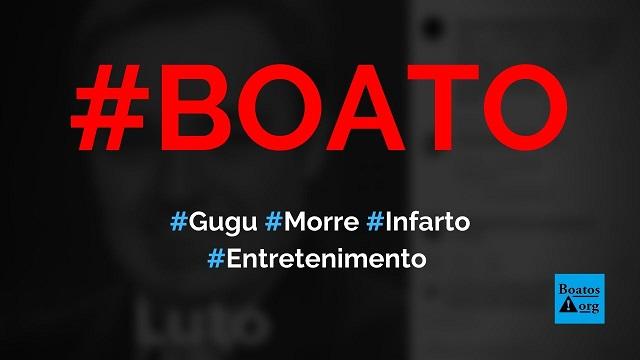 Gugu Liberato morre vítima de infarto aos 60 anos, diz boato (Foto: Reprodução/Facebook)