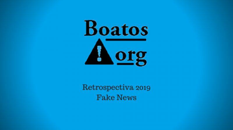 Retrospectiva 2019 das Fake News