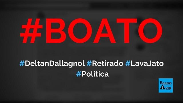 Deltan Dallagnol vai ser retirado da Lava Jata nesta semana e pede oração, diz boato (Foto: Reprodução/Facebook)