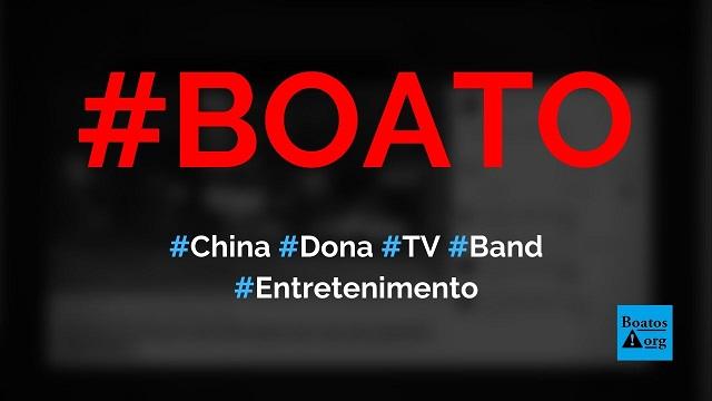 China é a dona da Band e mandou TV falar mal de Eduardo Bolsonaro, diz boato (Foto: Reprodução/Facebook)