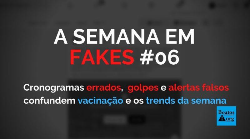 Cronogramas errados, tentativas de golpes e alertas falsos confundem a (já confusa) vacinação no Brasil (Foto: Reprodução/Internet)