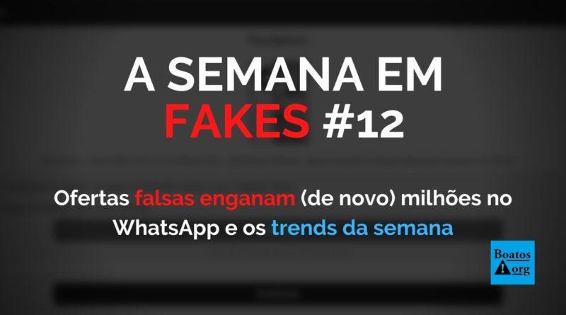 Ofertas falsas de brindes grátis enganam (de novo) milhões de pessoas inocentes no WhatsApp, diz boato