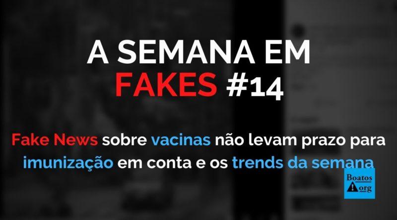 Fake news ignoram prazo para imunização a fim de atacar eficácia das vacinas, diz boato (Foto: Reprodução/Facebook)