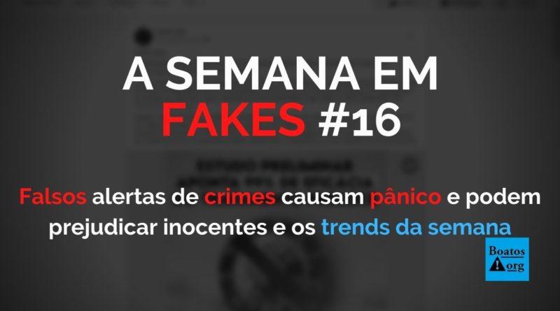 Falsos alertas de crimes causam pânico e podem ter consequências piores do que imaginamos, diz boato (Foto: Reprodução/Facebook)