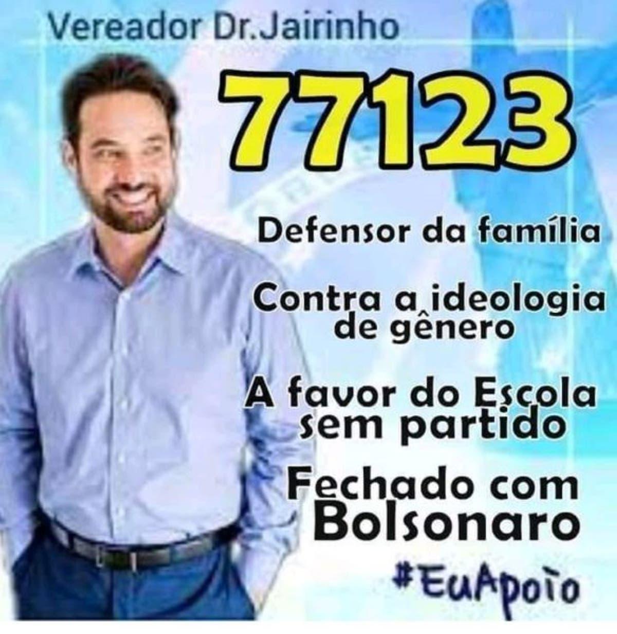 Dr. Jairinho, imagem falsa