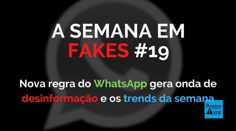 Nova regra do WhatsApp gera onda de desinformação sobre o aplicativo