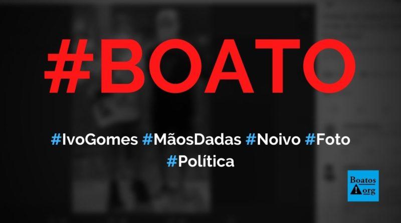 Ivo Gomes é flagrado de mãos dados com homem que é seu noivo, diz boato (Foto: Reprodução/Facebook)