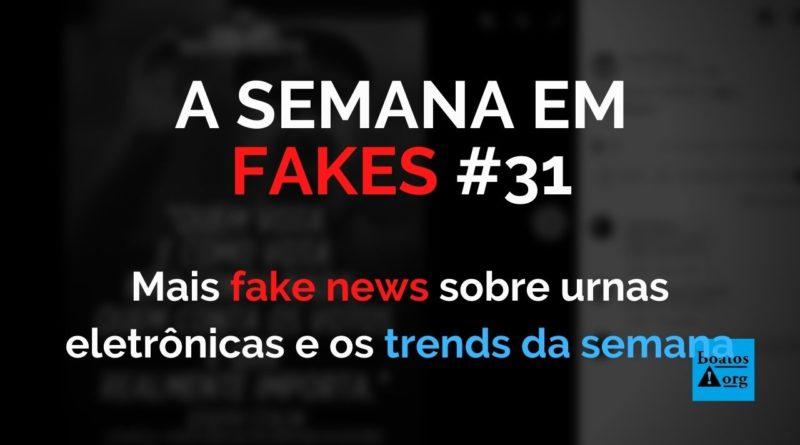 Informações falsas sobre urnas eletrônicas dominam (de novo) pauta de fake news da semana