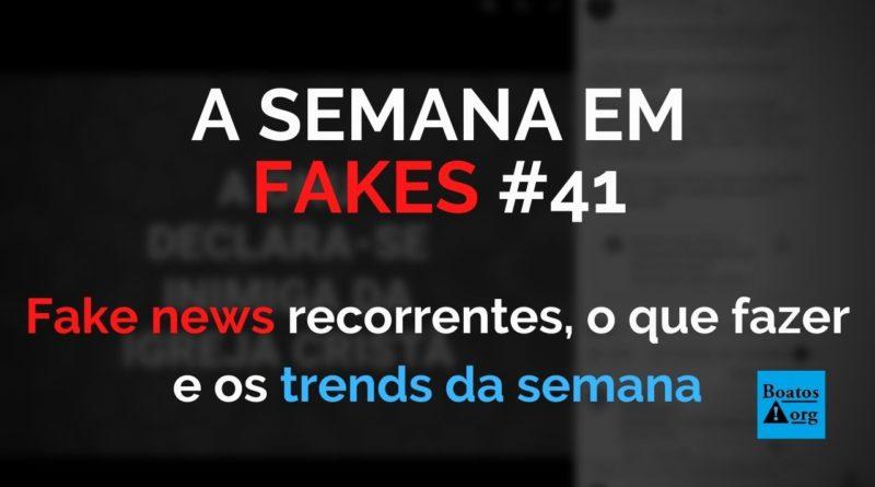 Fake news recorrentes (e óbvias) mostram que precisamos fazer mais para combater à desinformação